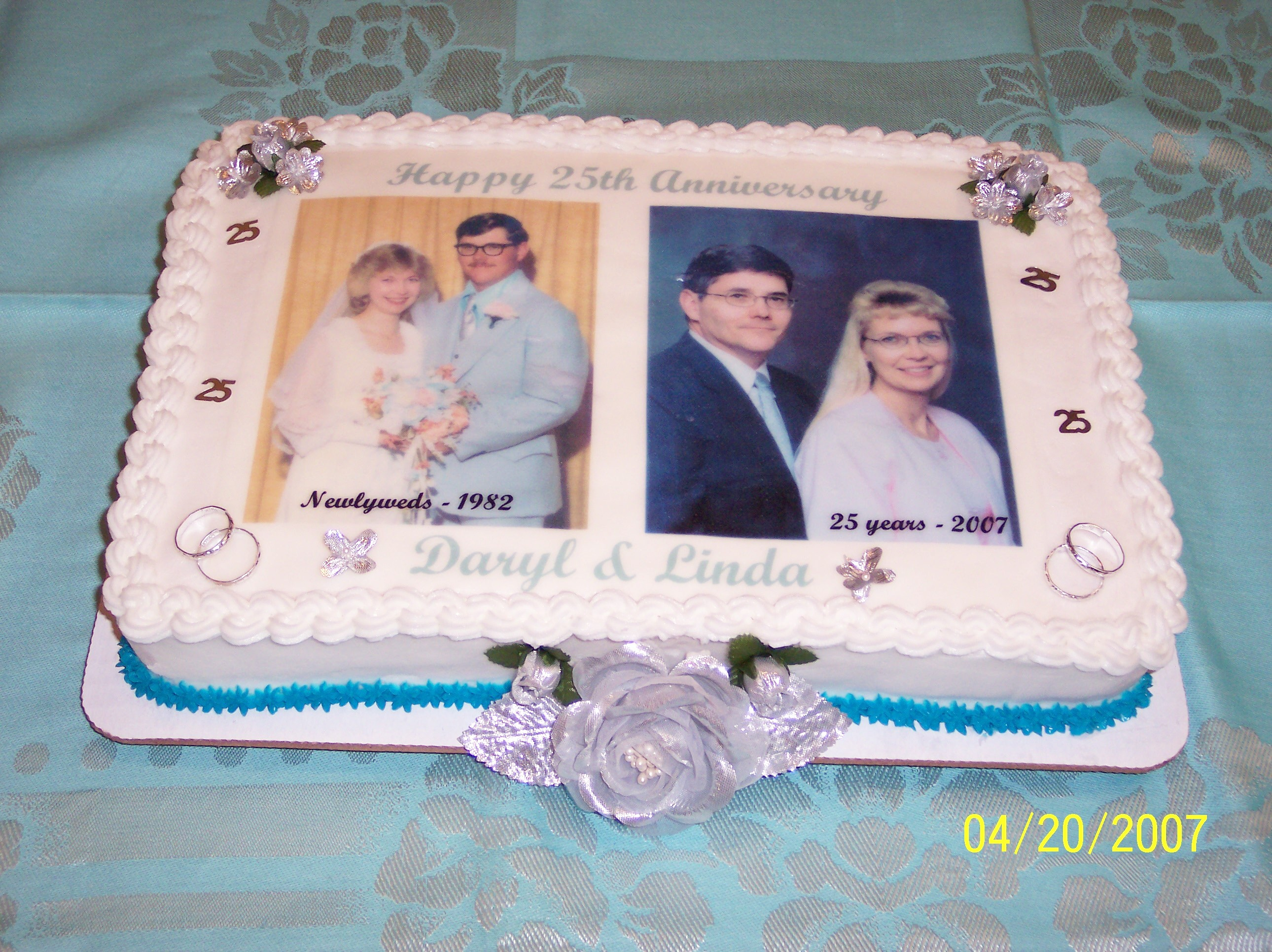 Our 25th Anniversary Cake